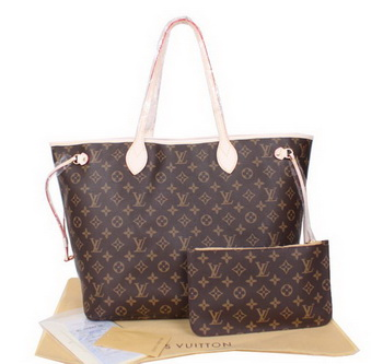 Louis Vuitton Monogram Canvas Neverfull GM M40990 Beige