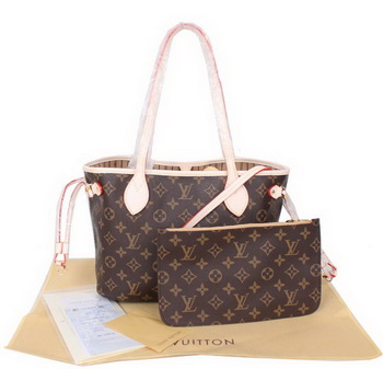 Louis Vuitton Monogram Canvas Neverfull PM M41000 Beige