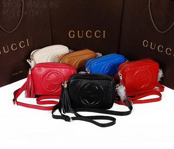 Gucci Soho Calfskin Leather Disco Bag 308364