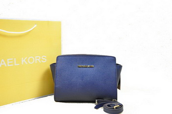 Michael Kors Mini Selma Messenger Bag MK1869S RoyalBlue