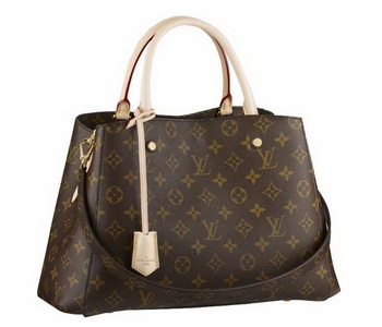 2014 Louis Vuitton Monogram Canvas Montaigne MM M41056