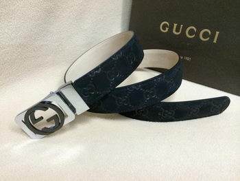 GUCCI Belt GI1387A Navy Blue