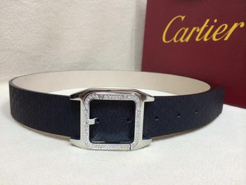 Cartier Belt KA2005B Navy Blue