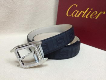 Cartier Belt KA2006A Navy Blue