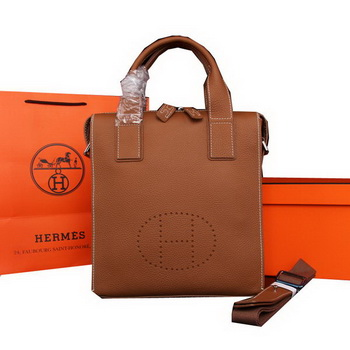 Hermes Original Calf Leather Tote Bag M86682 Wheat