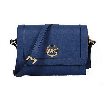 Michael Kors Messenger Bag Saffiano Leather MK8702 RoyalBlue