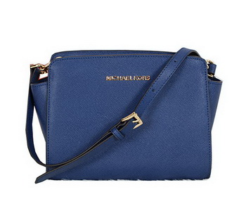 Michael Kors Mini Selma Messenger Bag MK8701 RoyalBlue