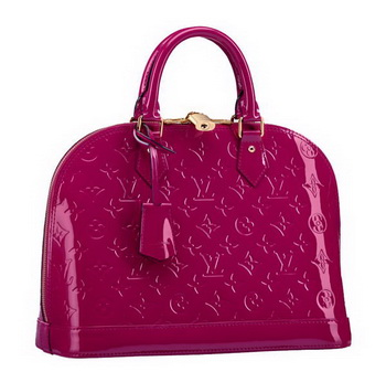 Louis Vuitton Monogram Vernis Alma PM M91770 Indian Rose