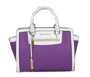 Michael Kors Sophie Shoulder Bag Original Leather MK9025 Purple
