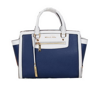 Michael Kors Sophie Shoulder Bag Original Leather MK9025 RoyalBlue