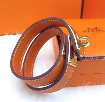 Hermes Genuine Leather Bracelet HM0013D
