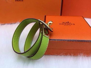 Hermes Genuine Leather Bracelet HM0013F