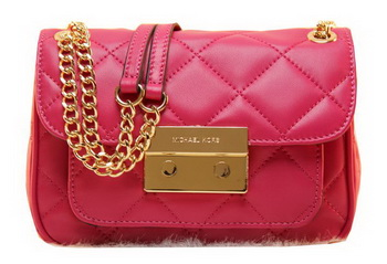 Michael Kors Original Leather Clutch Bag MK0819 Rose