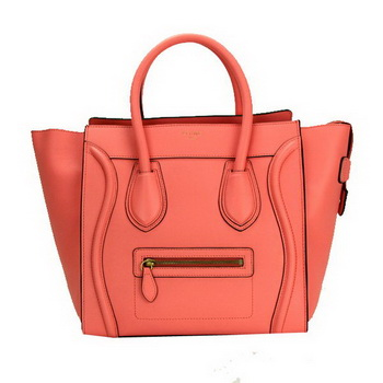 Celine Luggage Mini Bag Smooth Leather CL88022 Copperstone