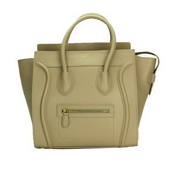 Celine Luggage Mini Bag Smooth Leather CL88022 Khaki