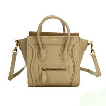 Celine Luggage Nano Bag Smooth Leather CL88029 Khaki