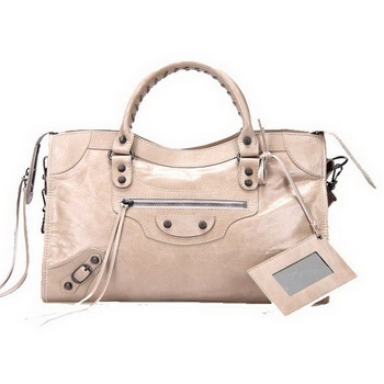 Balenciaga Large Classic Part Time Bag 085332 Beige