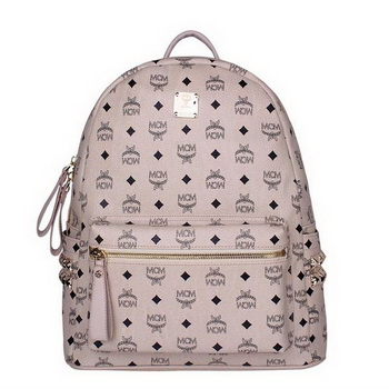 MCM Medium Stark Backpack MC2446 Beige
