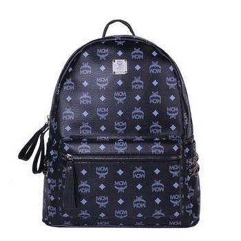 MCM Medium Stark Backpack MC2446 Black