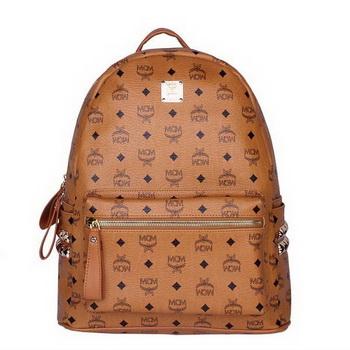 MCM Medium Stark Backpack MC2446 Wheat
