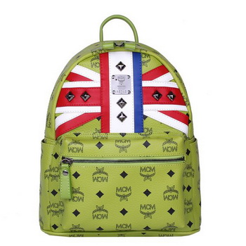 MCM Small Flag of UK Backpack MC5173S Green