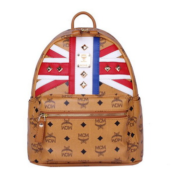 MCM Small Flag of UK Backpack MC5173S Wheat