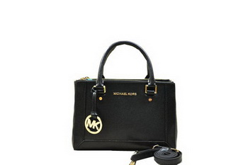Michael Kors Selma Original Saffiano Leather Tote Bag MK1993 Black
