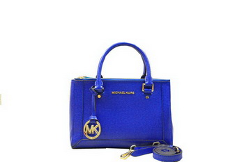 Michael Kors Selma Original Saffiano Leather Tote Bag MK1993 Royal