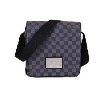 Louis Vuitton Damier Graphite Canvas Brooklyn PM N51210