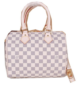 Louis Vuitton N41534 Damier Azur Canvas Speedy 25 Bag