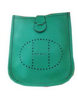 Hermes mini Evelyne Messenger Bag H1608S Green