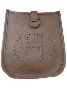 Hermes mini Evelyne Messenger Bag H1608S Khaki