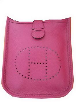 Hermes mini Evelyne Messenger Bag H1608S Rosy