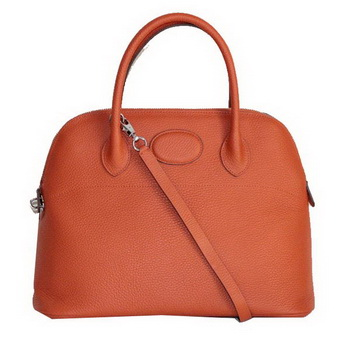 Hermes Bolide 37CM Calfskin Leather Tote Bags H509084 Orange