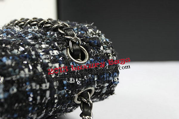Chanel 2.55 Series Flap Bags Original Fabric CHA01112 Black