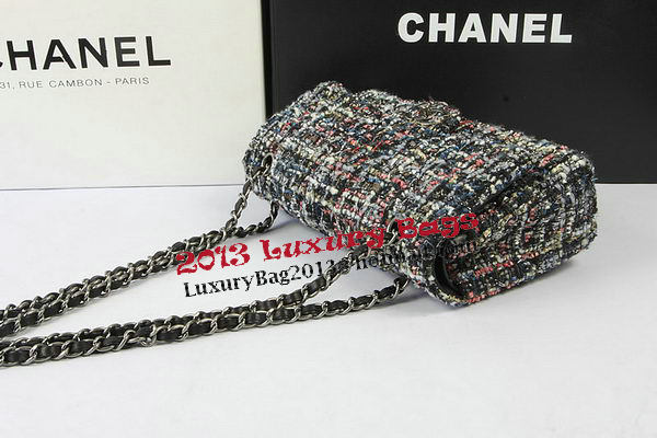 Chanel 2.55 Series Flap Bags Original Fabric CHA01112 Grey