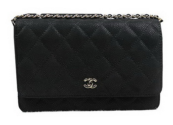 Chanel mini Flap Bag Original Suede Leather A33814 Black