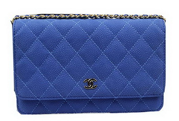Chanel mini Flap Bag Original Suede Leather A33814 Blue