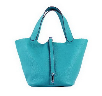 Hermes Picotin Lock PM Bags Clemence Leather H8615 Green