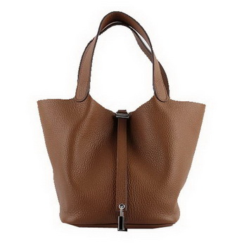 Hermes Picotin Lock PM Bags Clemence Leather H8615 Wheat