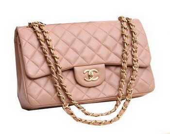 Chanel Jumbo Double Flaps Bags Original Lambskin Leather A36097 Beige
