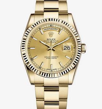 Rolex Day-Date Replica Watch RO8008J