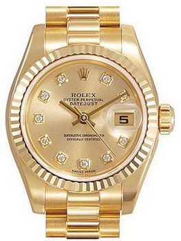 Rolex Datejust Ladies Replica Watch RO8022T