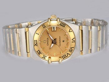 Omega Constellation Replica Watch OM8033A
