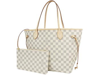 Louis Vuitton N41361 Damier Azur Neo Neverfull MM Bag