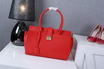 Ferragamo Medium Tote Bag Calfskin Leather 1129 Red