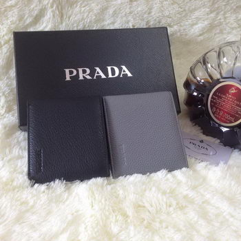 Prada Grainy Calf Leather Men Wallet 2M0513