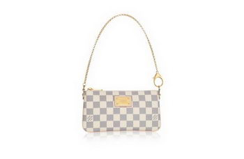 Louis Vuitton Damier Azur Canvas MILLA CLUTCH MM N60027