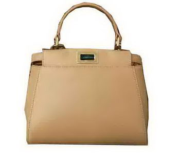 Fendi mini Peekaboo Bag Original Leather 55211 Beige