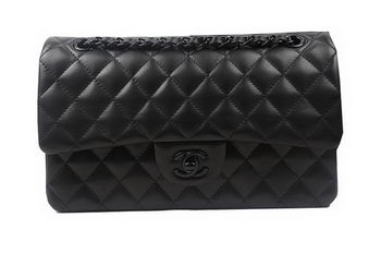 Chanel 2.55 Series Flap Bags Original Sheepskin Leather A1112 Black